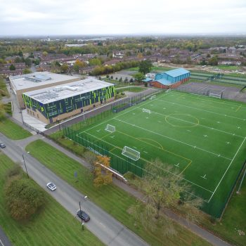 a finished 3G pitch construction