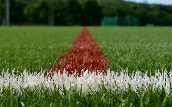 a 3g pitch and its markings