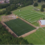 birds eye view of MFC training grounds