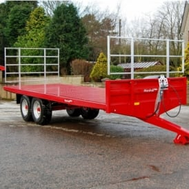 Agricultural Flat Bale Trailer BC/25-12 Ton