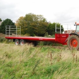 Agricultural Flat Bale Trailer BC-32 16 Tons