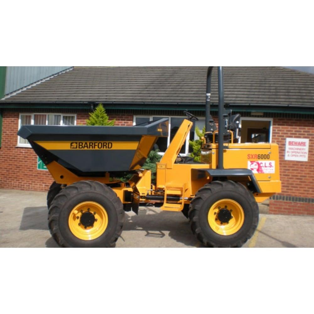 Barford Sxr6000 - 6 Tonne Rotary Dumper