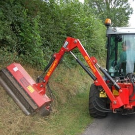 BS Side Arm Flail Mower