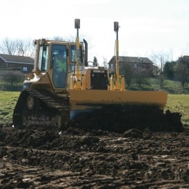 D5N Low Ground Pressure Dozer