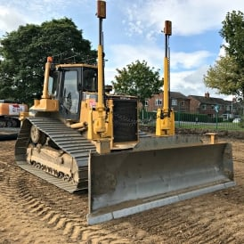D6M Low Ground Pressure Dozer