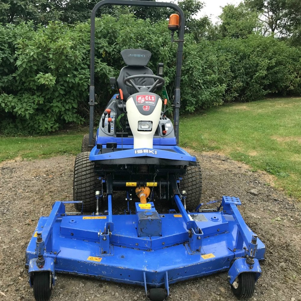 wheel adjusters, well built machines capable of working hard for  professional users  the manual is a little unclear on this  iseki mower  deck