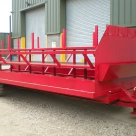 Low Level Single Axle System Scaffold Trailer