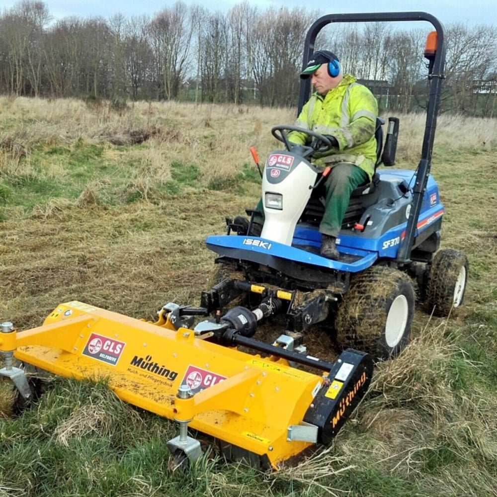 Müthing MU-FM 160 Front Mounted Flail Mower | CLS Selfdrive