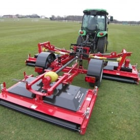 Tri-Deck Roller Finishing Mower TDR-12