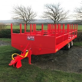 Tube and Fit Tandem Axle Scaffold Trailer