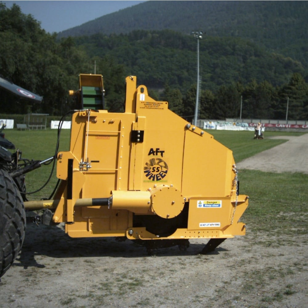 AFT Whiz Wheel 55 Wheel Trencher | Land Drainage | CLS Selfdrive